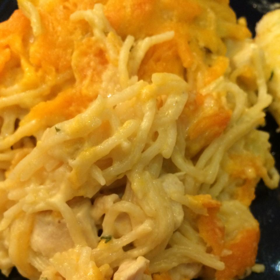 Easy Chicken Tetrazzini for a Large Family Lisa Altmiller