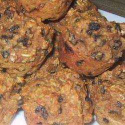 Molasses Raisin Muffins image