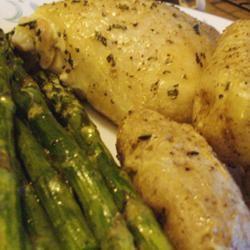 Crispy Rosemary Chicken and Fries Pam Ziegler Lutz