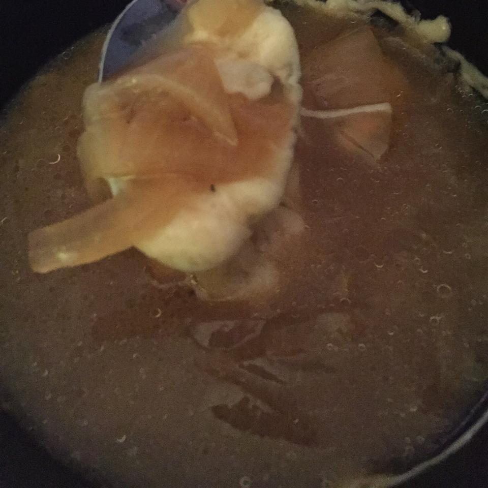 French Onion Soup (Slow Cooker) Dtison