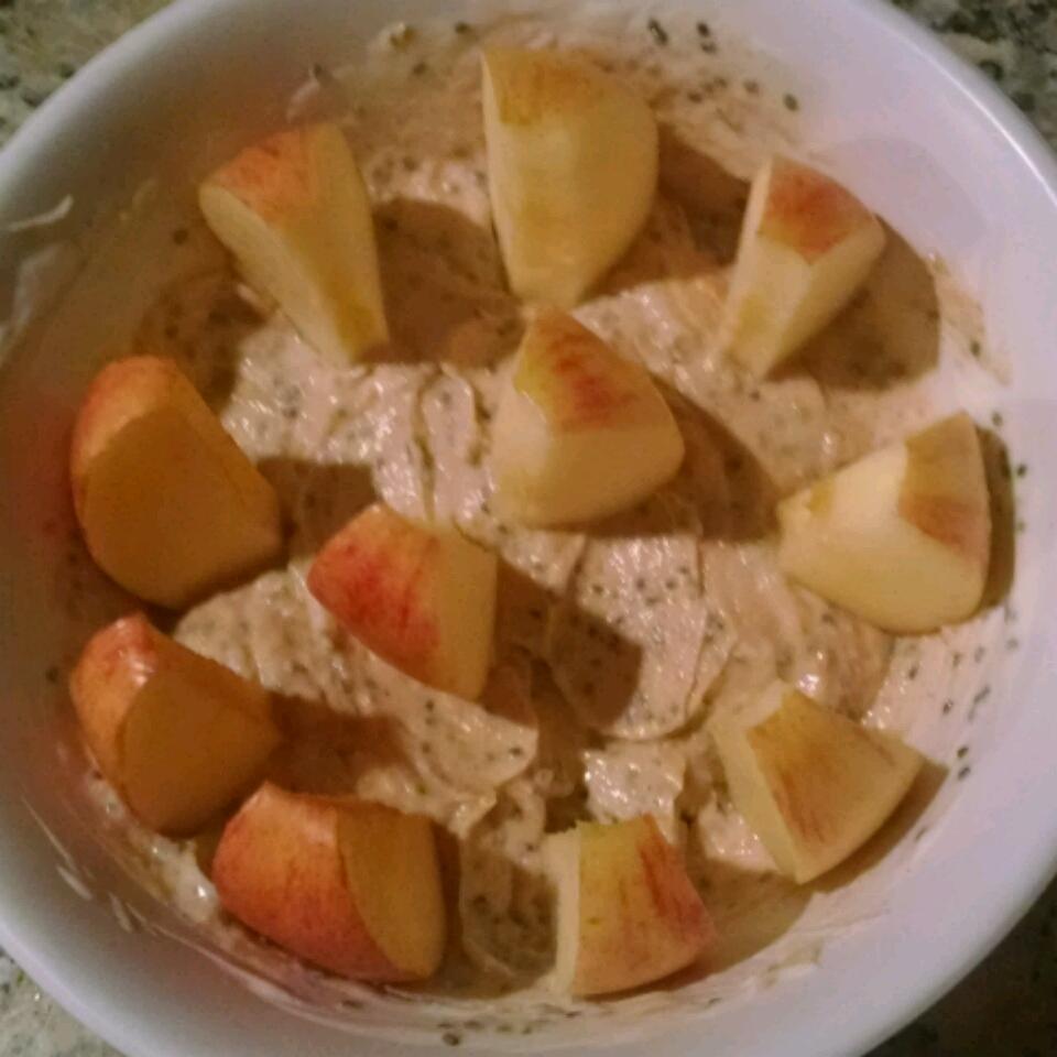 Healthy Peanut Butter Fruit Dip shayda