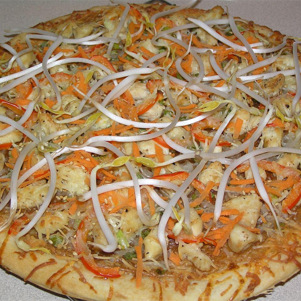 Thai Chicken Pizza jen53207