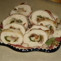 San Antonio Chicken Roll Ups michellej