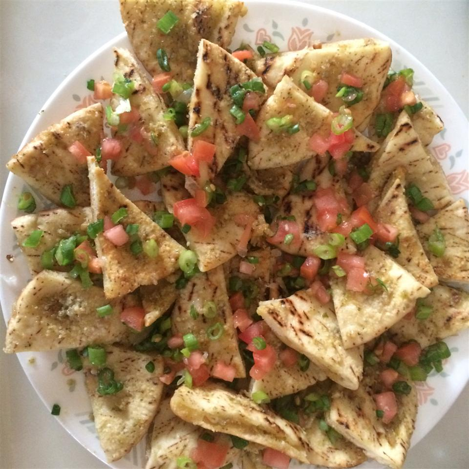 Garlic Pita Bread Bites Recipe Allrecipes