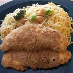 Angela's Easy Breaded Chicken Cooking Kitty