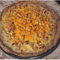 Chicken Alfredo Pizza FISHERBEAR
