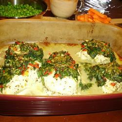 Spinach Chicken Parmesan