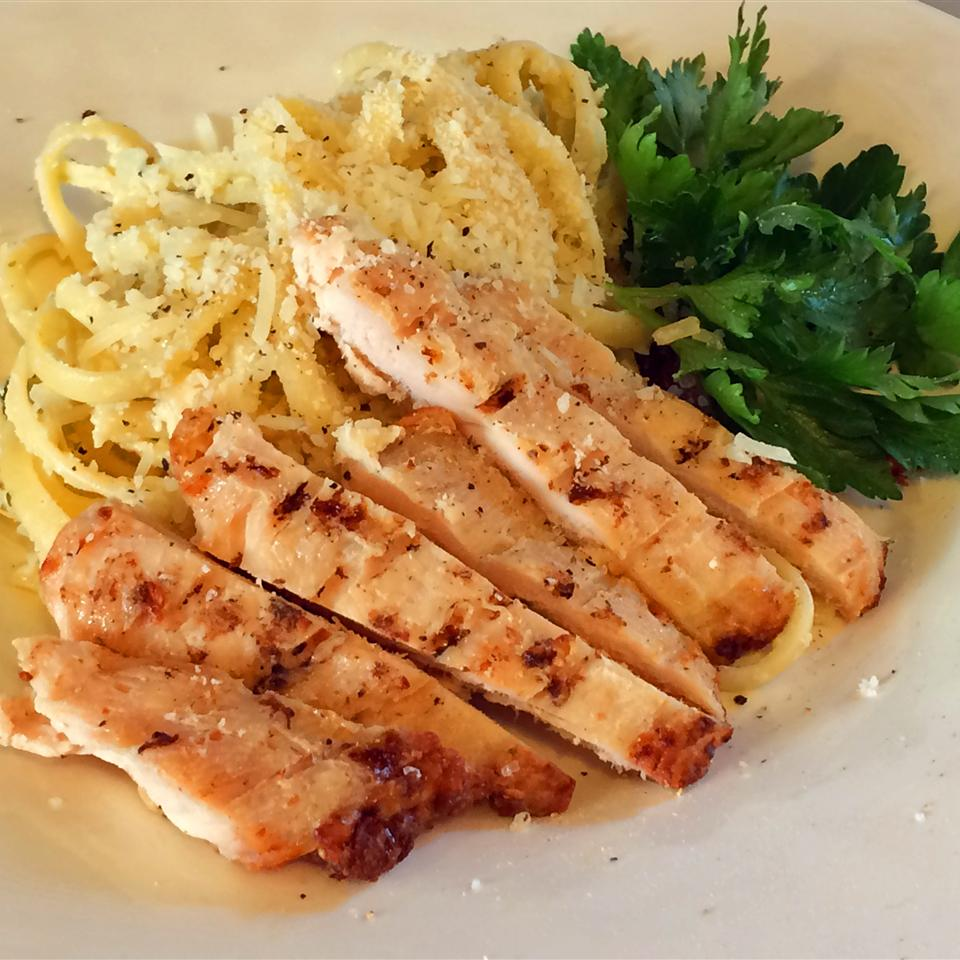 Chicken Lemon Linguine loafie