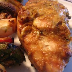 Grilled Peanut Chicken Irene