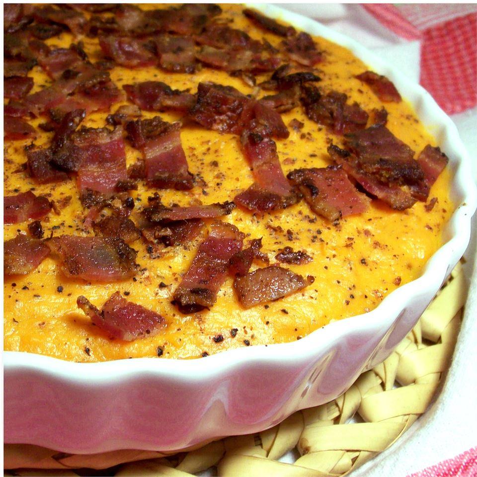 Sweet Potato Casserole with Bacon