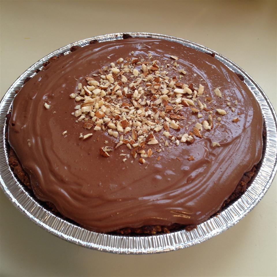 Chocolate-Almond Tofu Pie