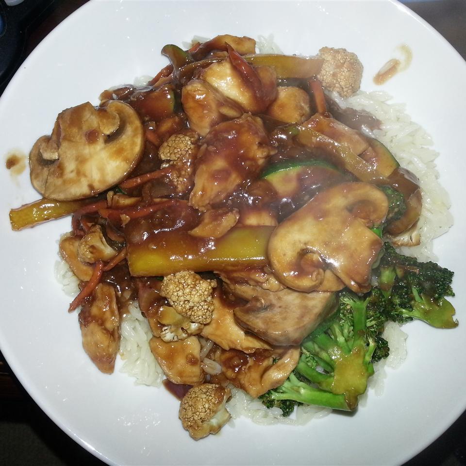 Kim's Stir-Fried Ginger Garlic Chicken Chelra