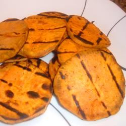 Grilled Yams Fit&Healthy Mom