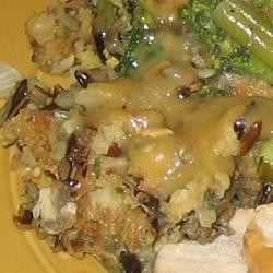 Leslie's Broccoli, Wild Rice, and Mushroom Stuffing Trish Beier