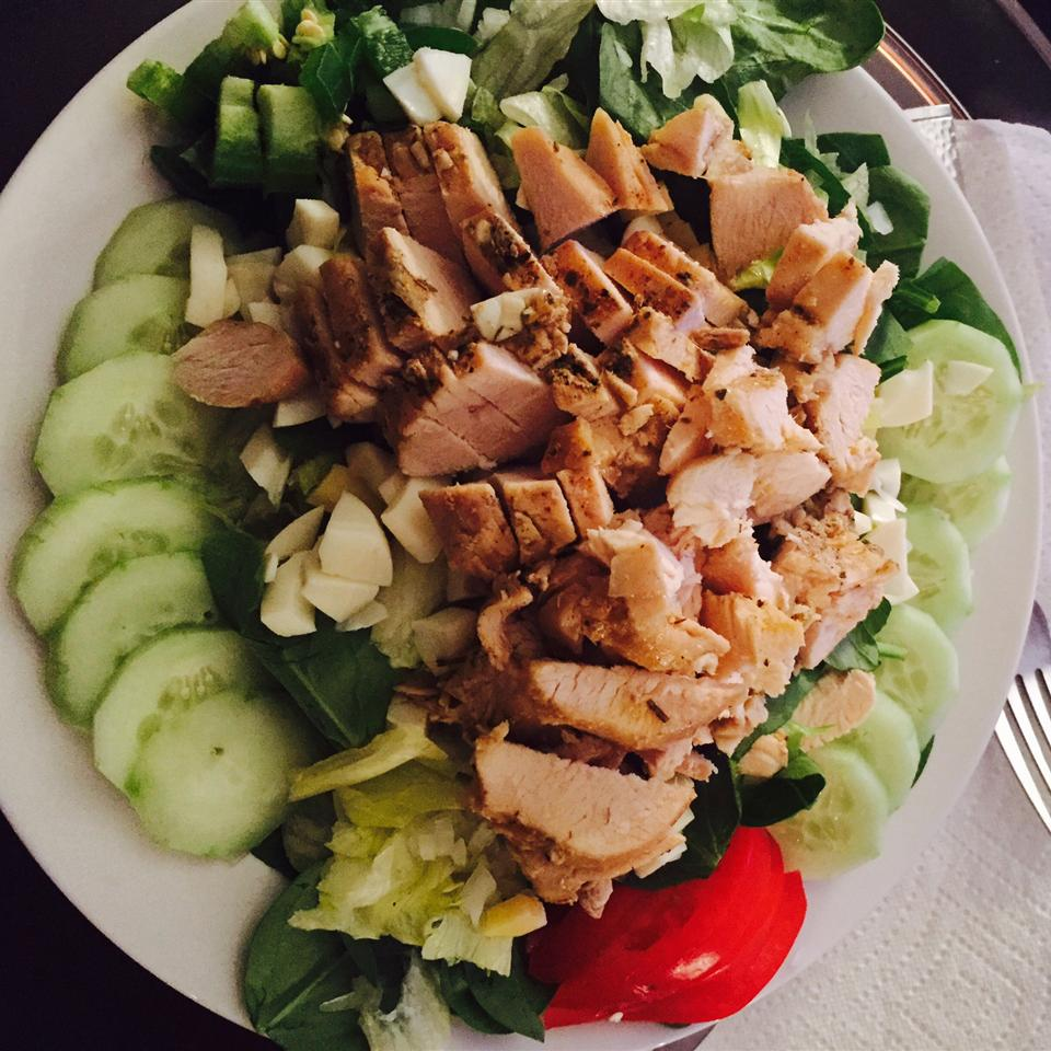Lemon Blueberry Chicken Salad ChefKellBells