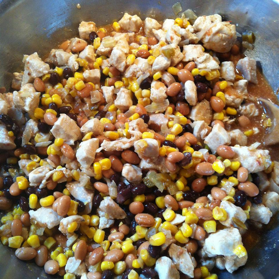 Chicken Tortilla Soup in the Slow Cooker Caroline Strasser