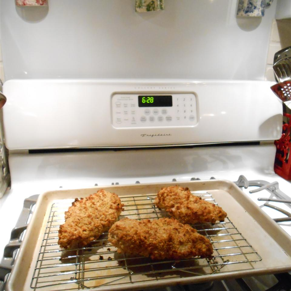 Crispy Juicy Oven-Fried Chicken Breasts Menwith Hill'er Back Home !!