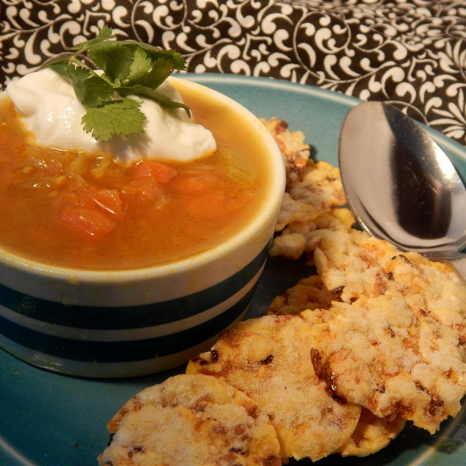 Curried Cream of Any Veggie Soup