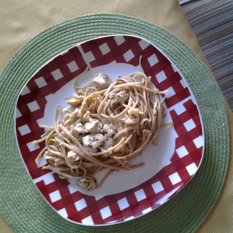 Chicken Lemon Linguine