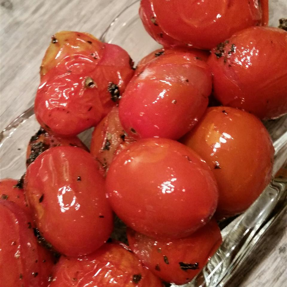 Byrdhouse Blistered Cherry Tomatoes