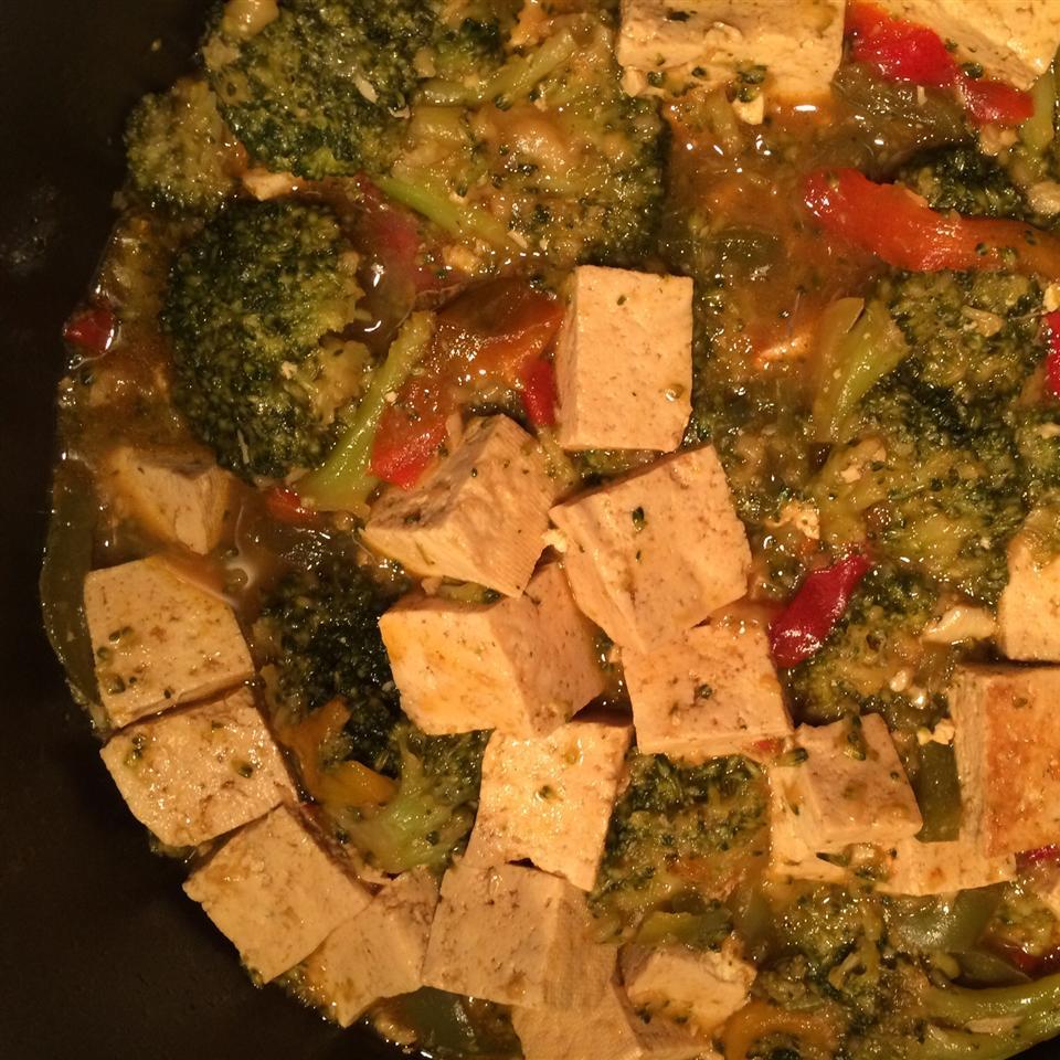 Broccoli and Tofu Stir Fry