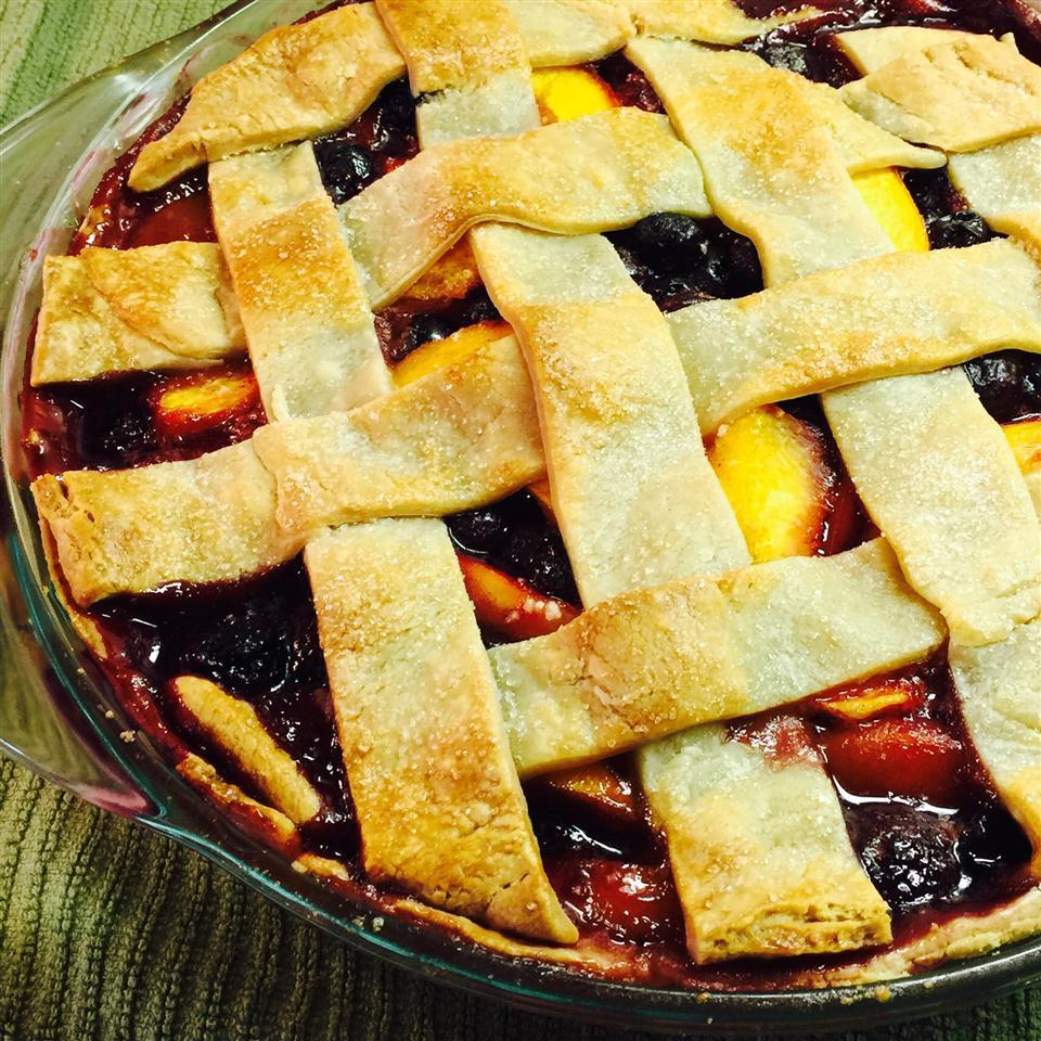 Cherry Berry Peach Pie Recipe Allrecipes Com Allrecipes