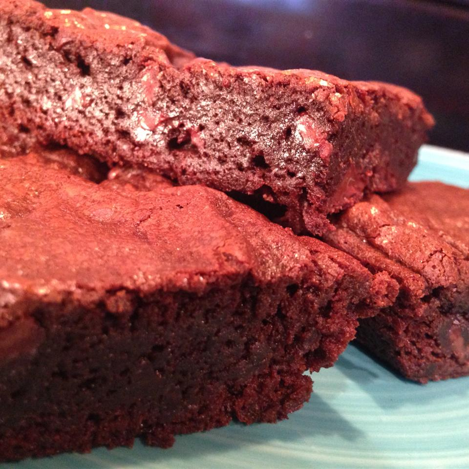 Rich Black Forest Brownies