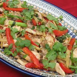 Thai Ginger Chicken (Gai Pad King) Shae's Mama