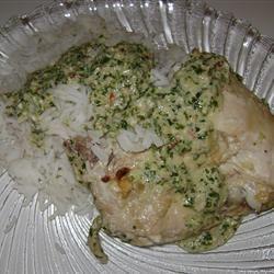 Cilantro Chutney Chicken YAKUTA