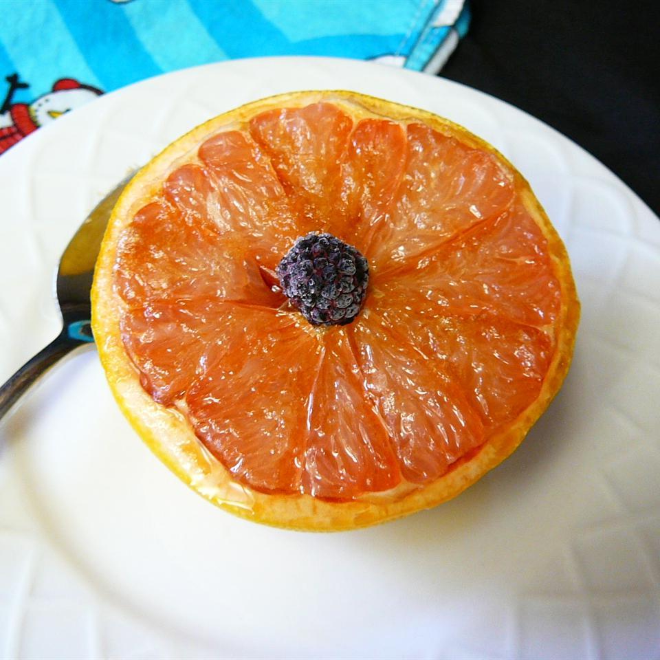 Simple Broiled Grapefruit image