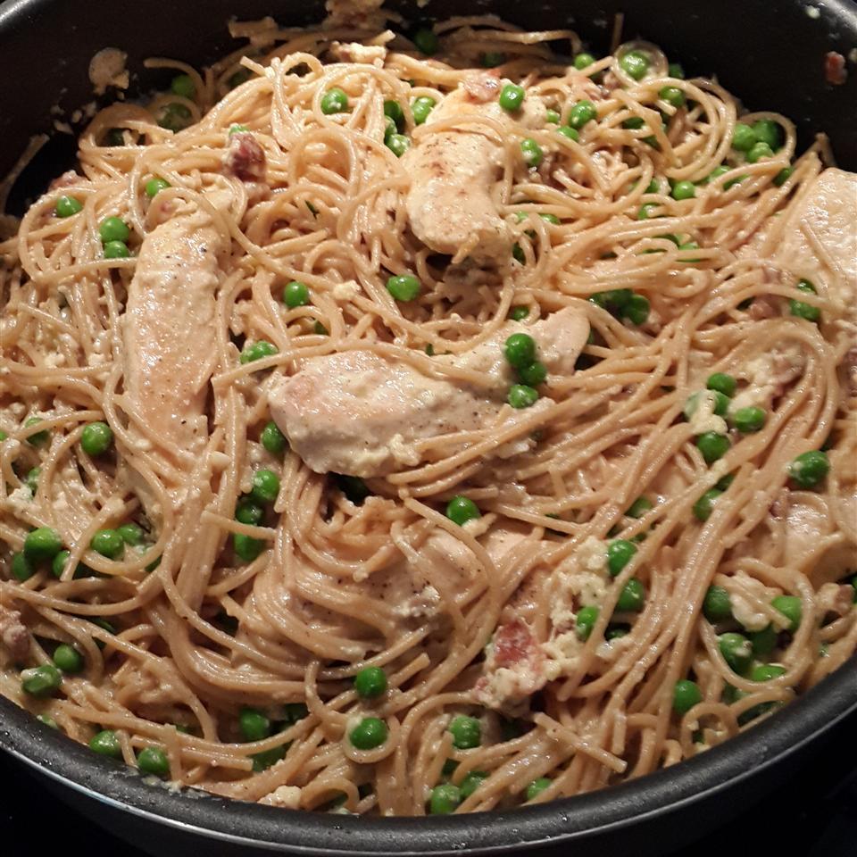 Loaded Chicken Carbonara