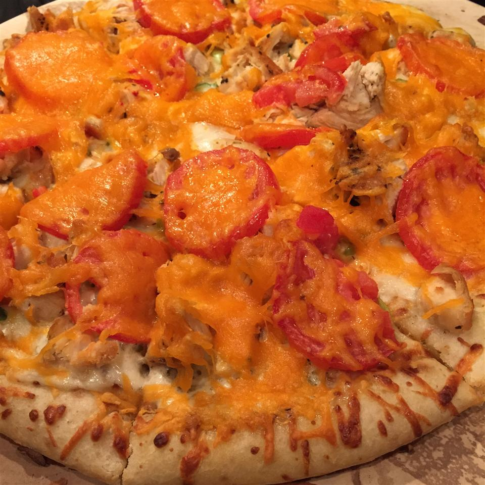 Gourmet Chicken Pizza marla