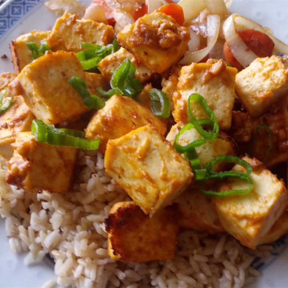 Spicy Baked Tofu Shelley W.
