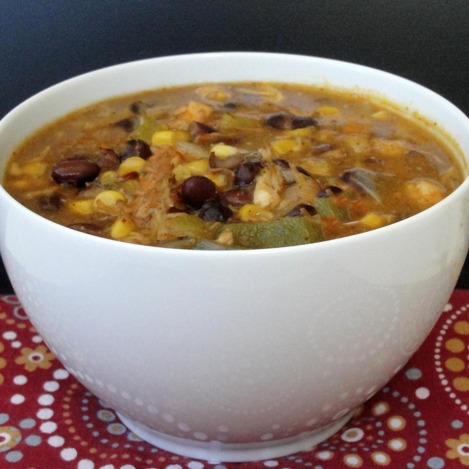 Chicken Corn Black Bean Soup Stacy