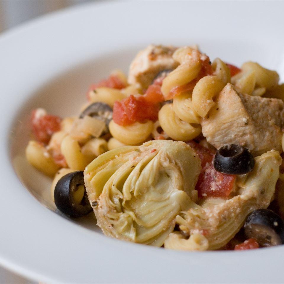 Greek Chicken Pasta Althea