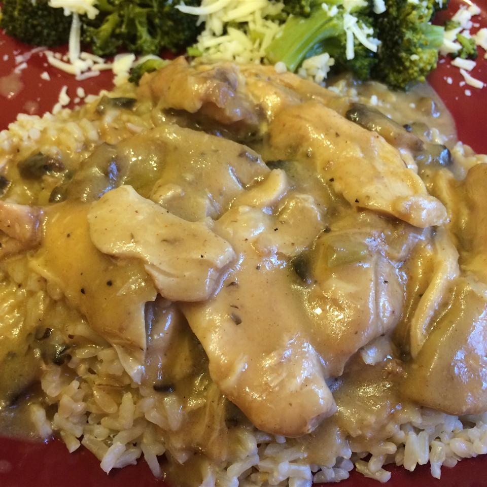Crock Pot Cheesy Mushroom Chicken Chef Robby