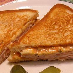 Grilled Hot Turkey Sandwiches