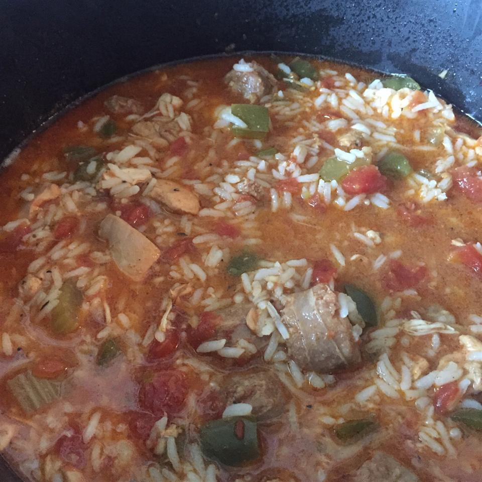 Slow Cooker Jambalaya JUNIORTHAN