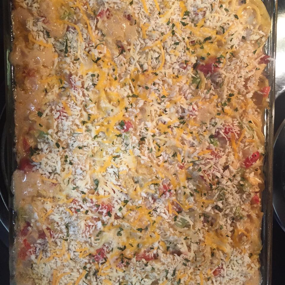 Baked Chicken Spaghetti Nastashia