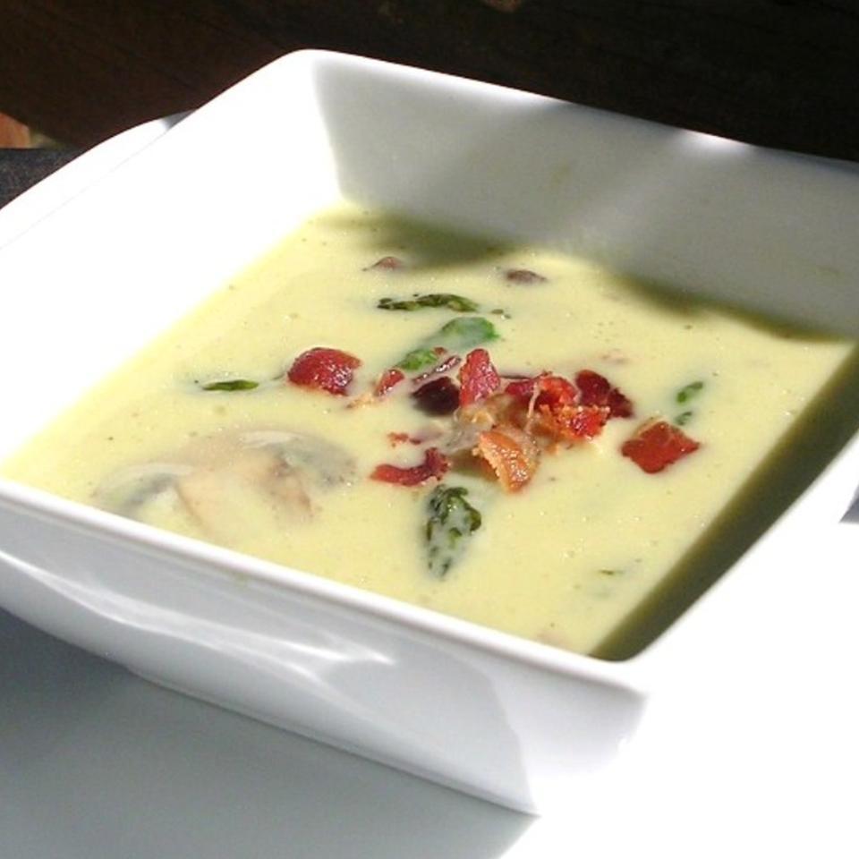 Cream of Asparagus and Mushroom Soup Kristy