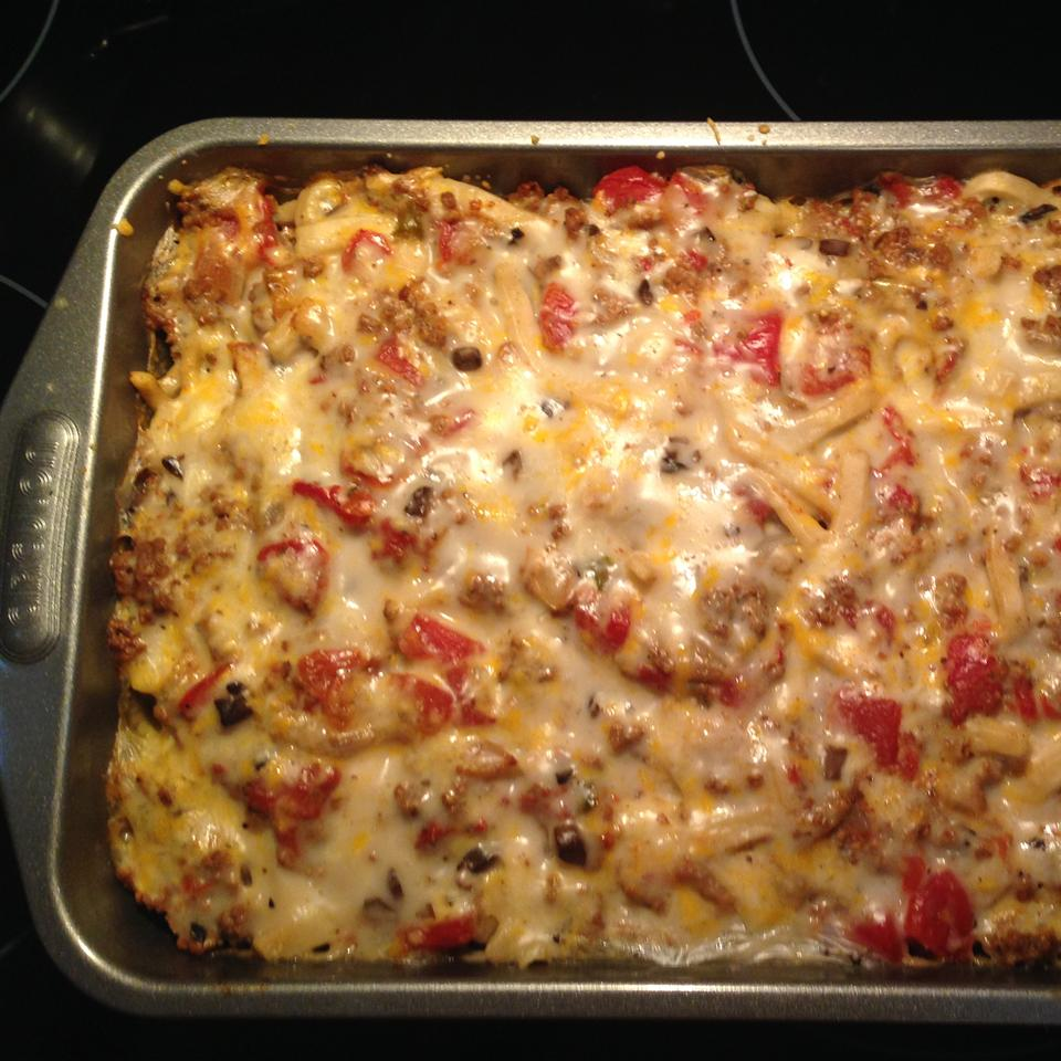 Baked Fettuccine Lasagna