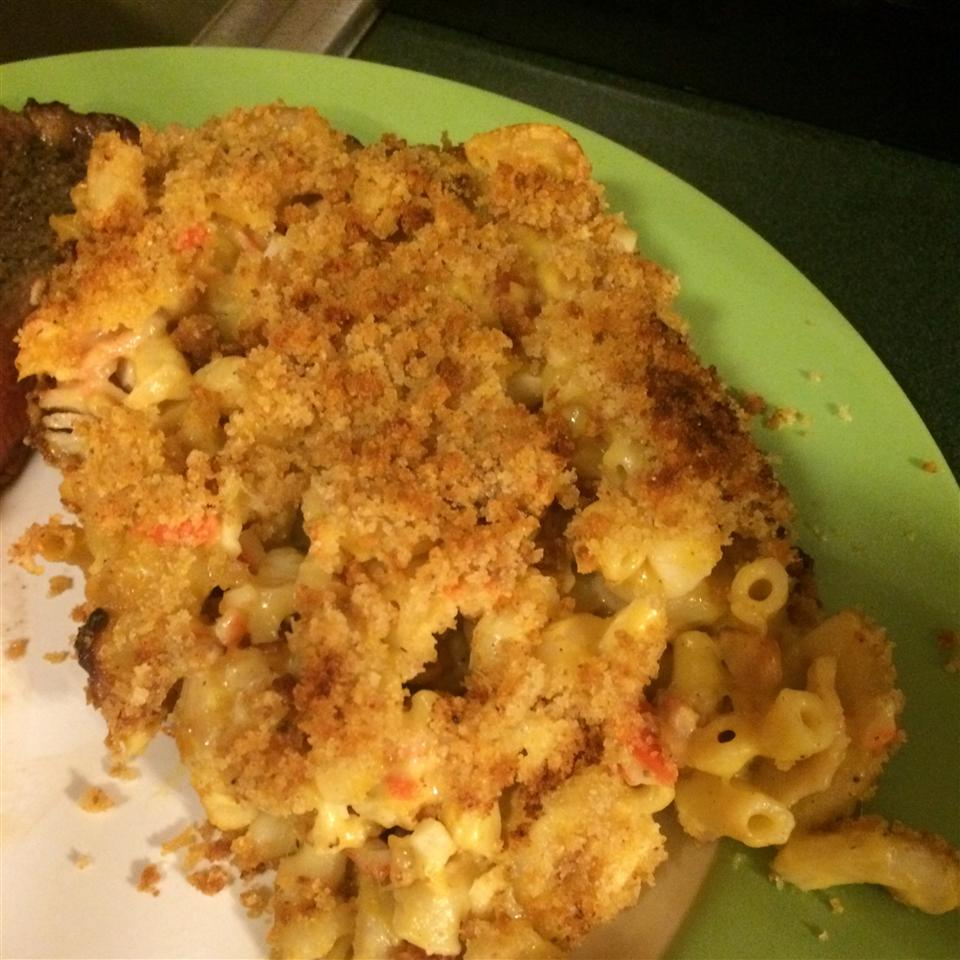 Lobster-Bacon Macaroni and Cheese Svsb247