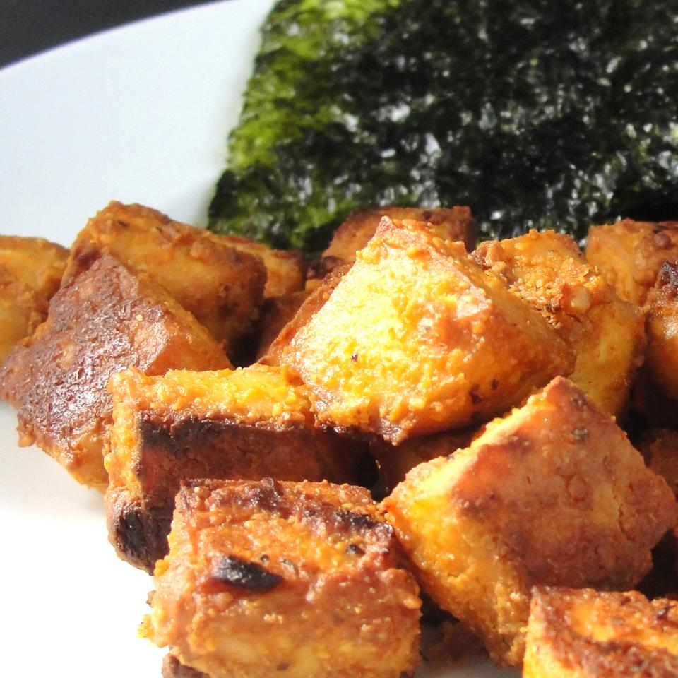 Spicy Baked Tofu Rock_lobster