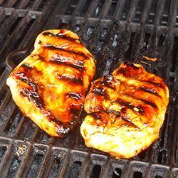 Honey Grilled Chicken Beth Cohen-Tribbie