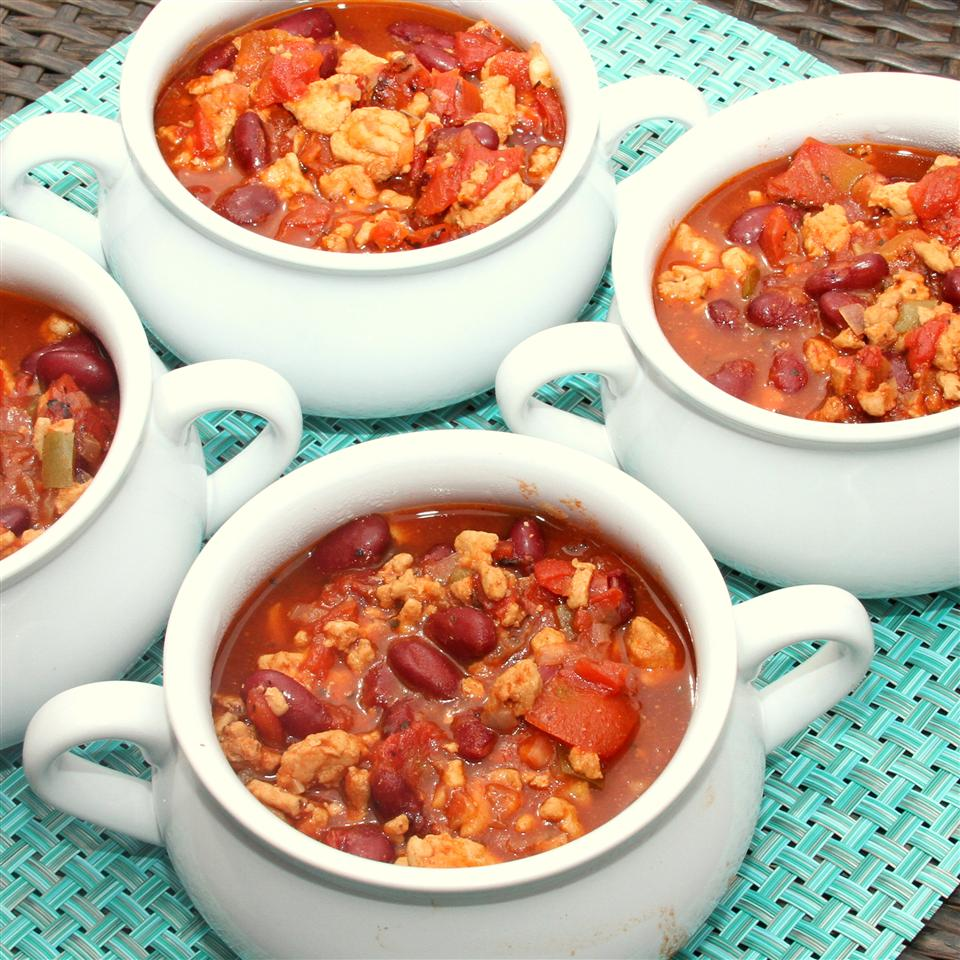 Family Favorite Slow Cooker Turkey Chili