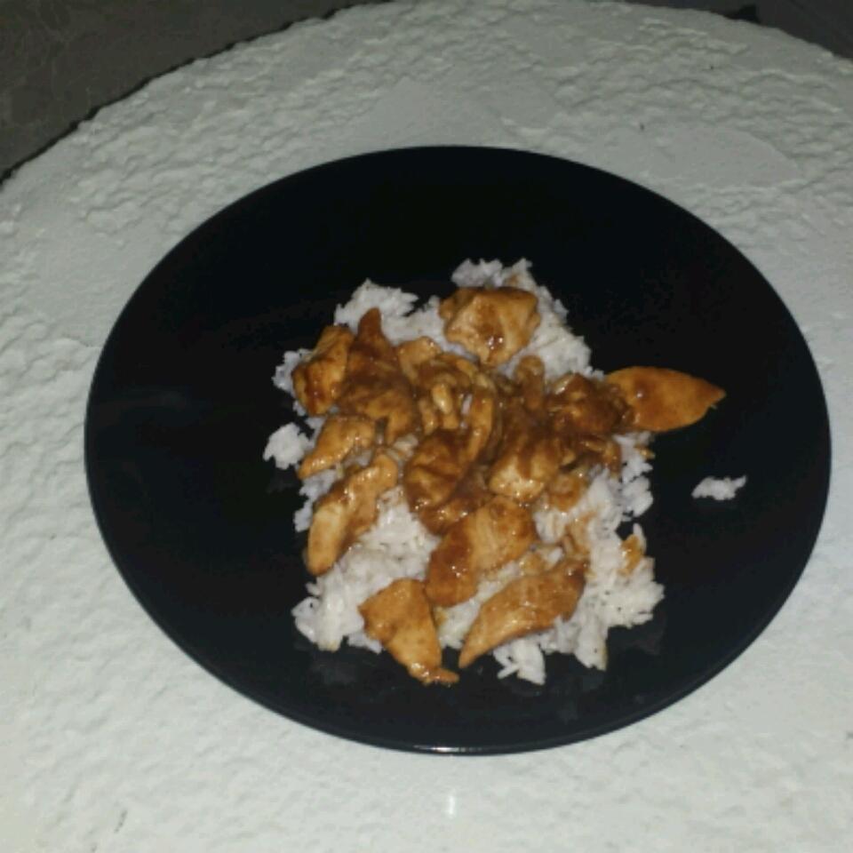 Kim's Stir-Fried Ginger Garlic Chicken Robert W