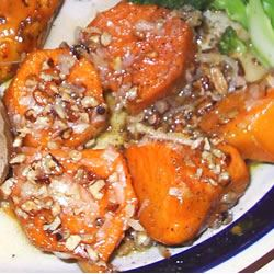 Maple Glazed Sweet Potatoes Holly Chadwick