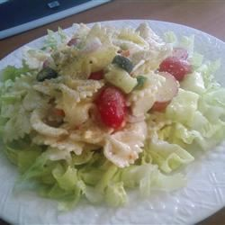 Summertime Chicken and Pasta Salad Andrea Parker