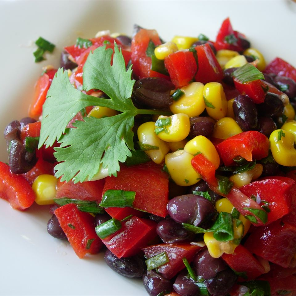 Black Bean and Corn Salad II - Printer Friendly