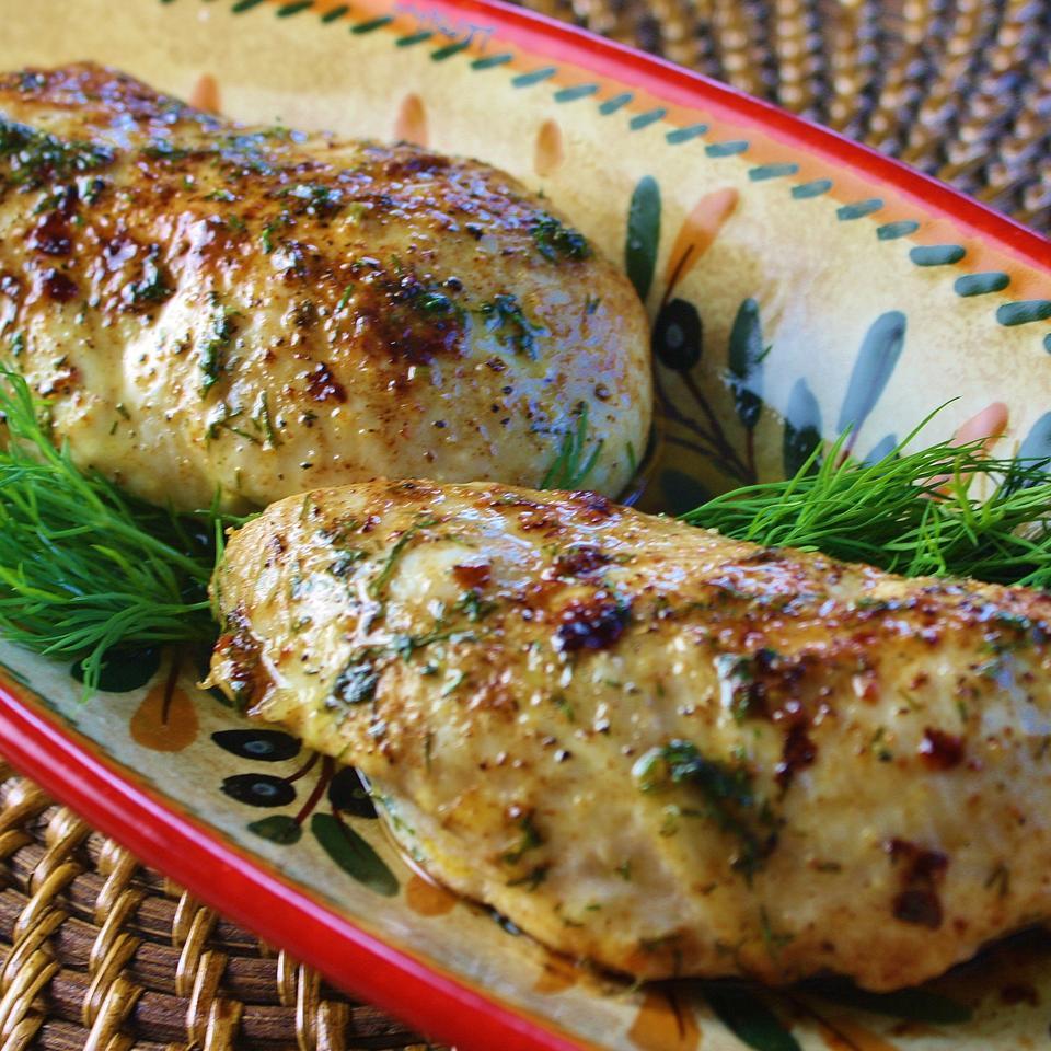 Three-Ingredient Baked Chicken Breasts Jennifer Jones
